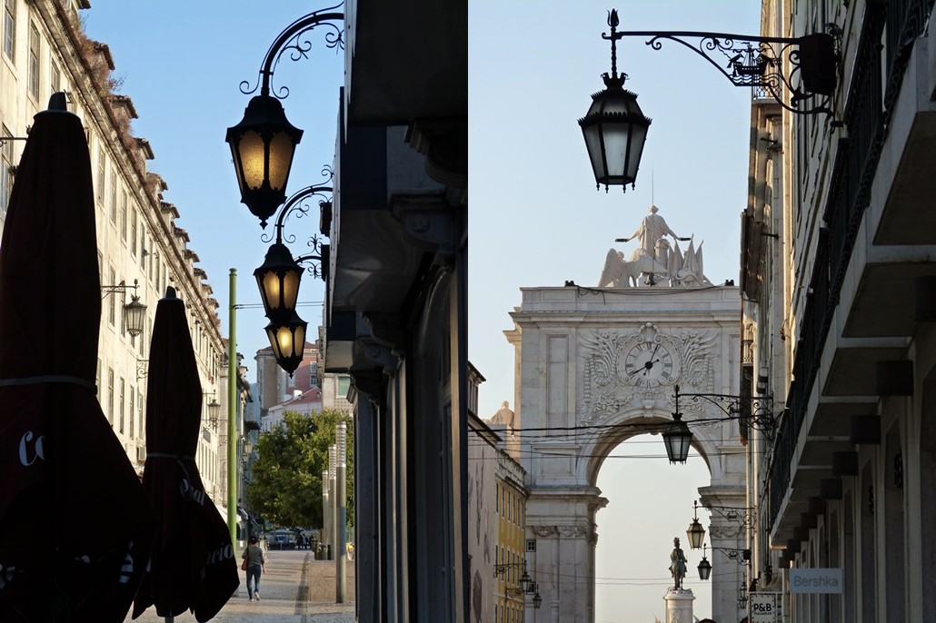 moments of travel morning walk in Lisbon, Portugal (1)