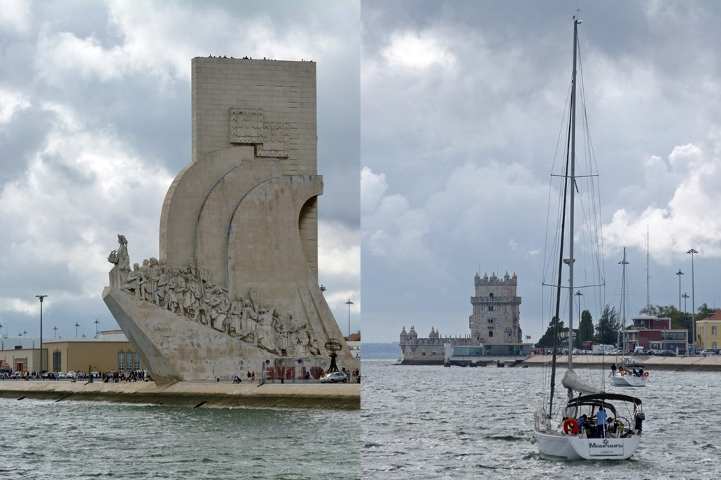 moments of travel on yellow boat tour in Lisbon, Portugal (3)