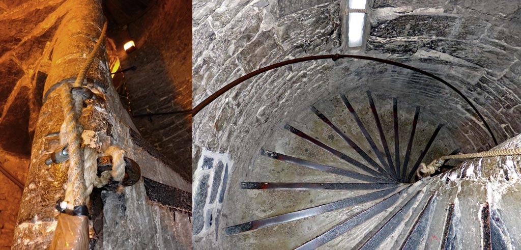 Treppenstufen im Belfried Gent, Gent Sehenswürdigkeiten, Moments of Travel
