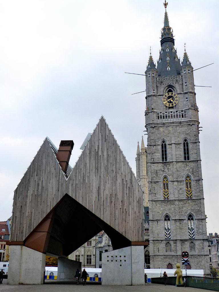 Stadthalle und Belfried in Gent, Gent Sehenswürdigkeiten, Moments of Travel