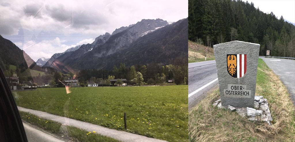 anreise salzburg hallstatt oberoesterreich