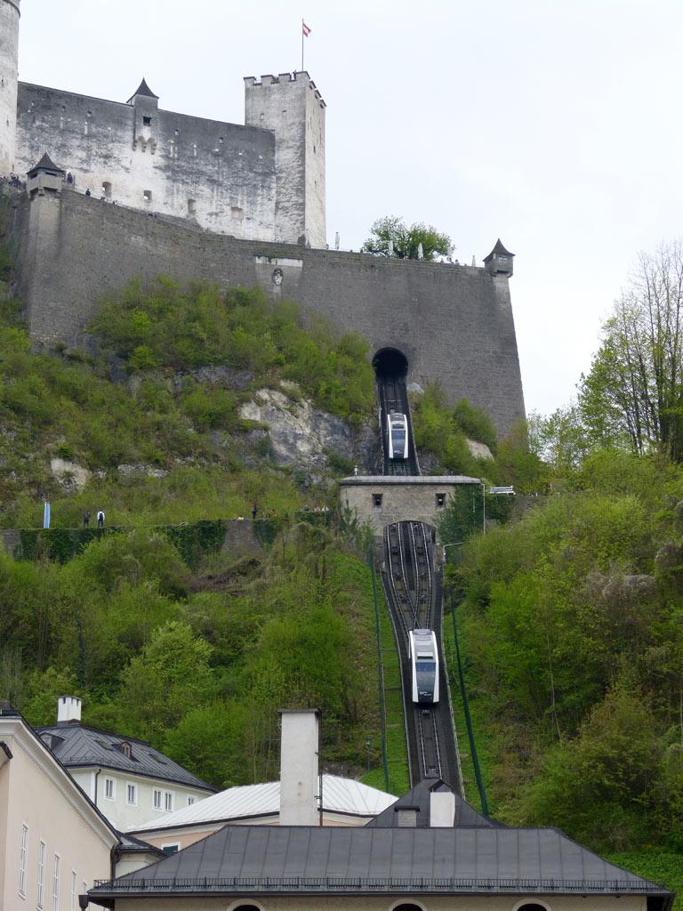 Blick auf Festung Hohensalzburg