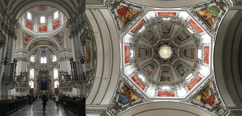 Dom zu Salzburg Kirchenschiff