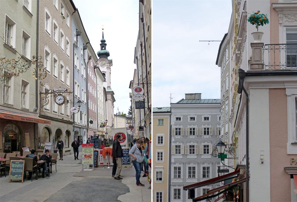 Gasse Architektur Salzburg