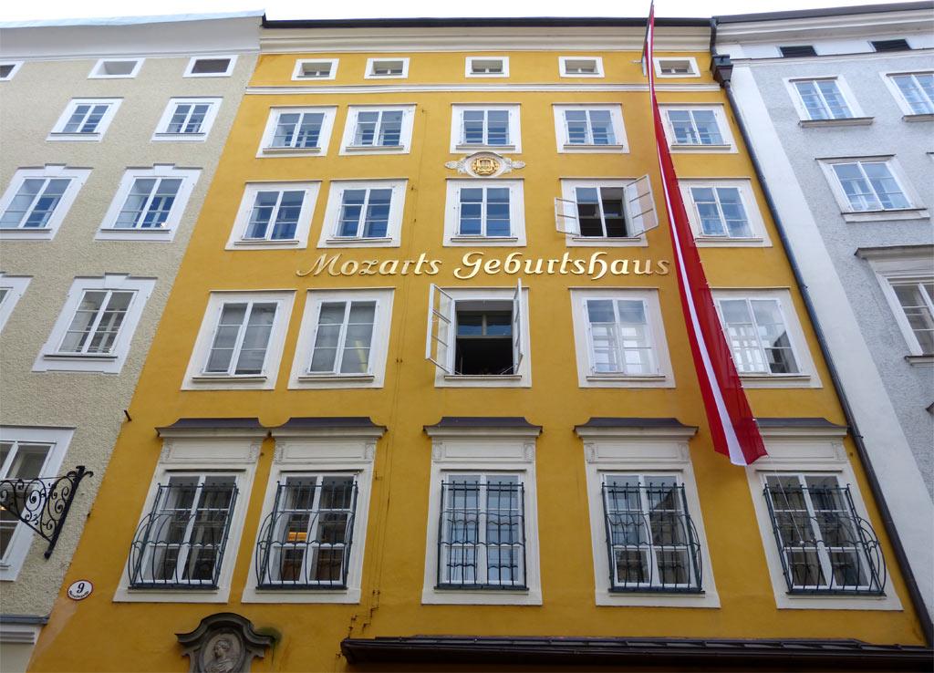 Gelbes Haus Mozart Geburtshaus