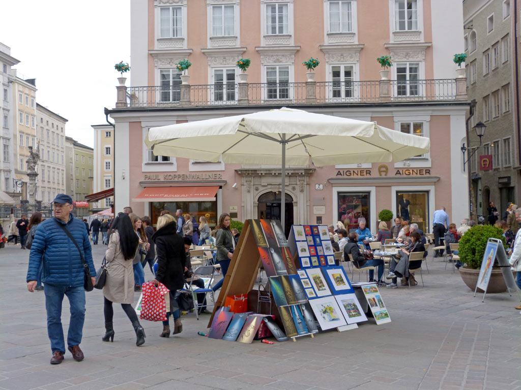 Verkaufsstand Salzburg Innenstadt