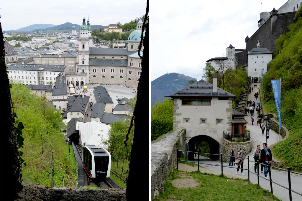 Seilbahn zur Festung Hohensalzburg