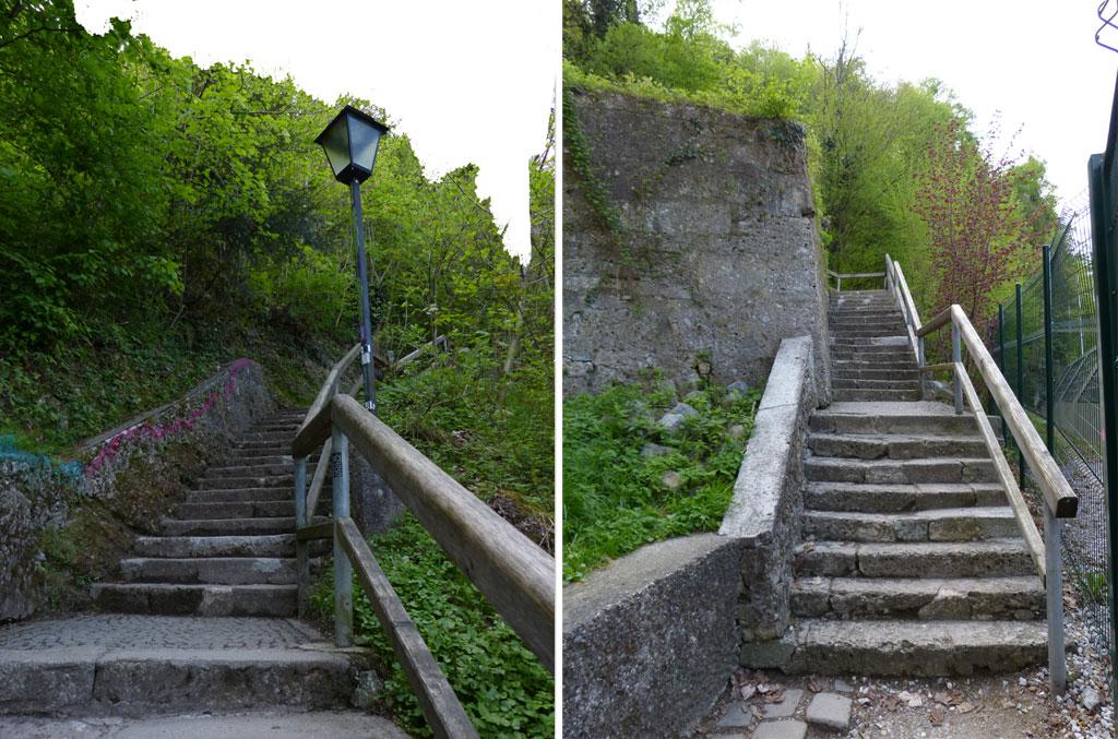 Treppen aus Stein