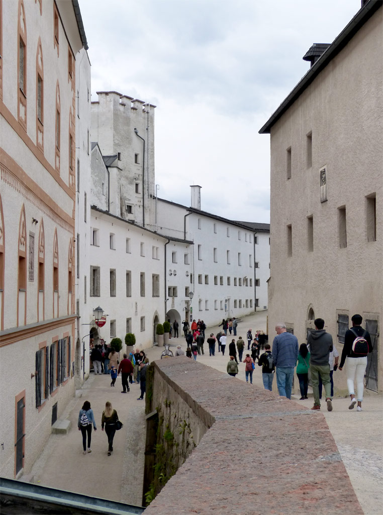 Festung Hohensalzburg innen