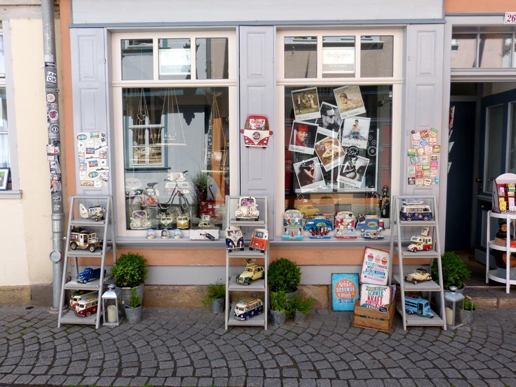 Autoladen Krämerbrücke Erfurt