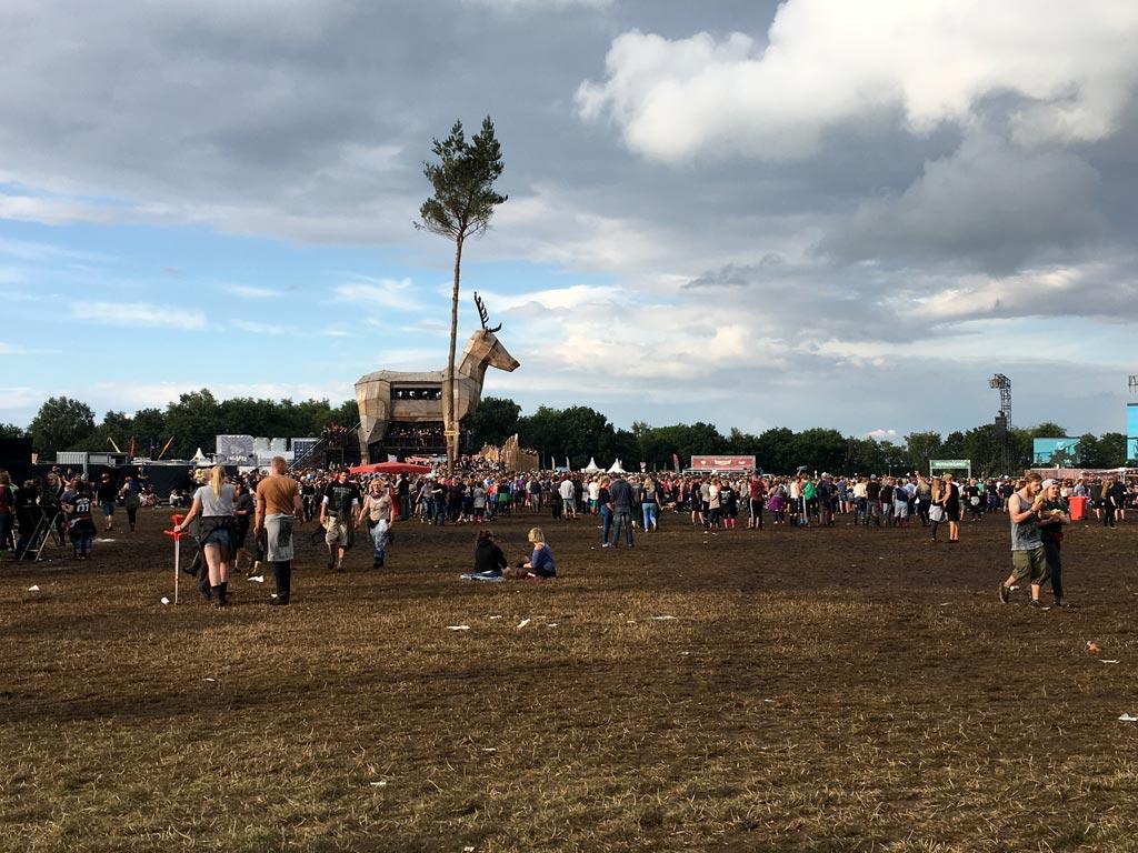 Festival Elch Wiese Menschen