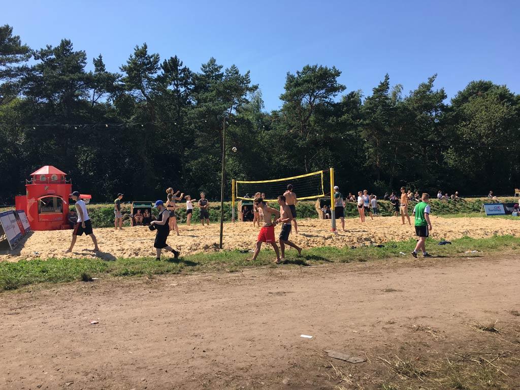 Volleyball Feldweg Festival