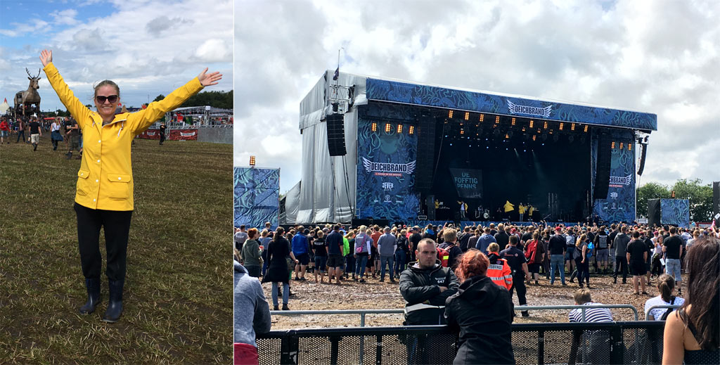Festival Bühne Deichbrand