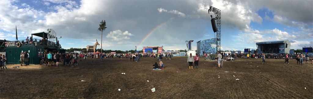 Panorama Festival Regenbogen