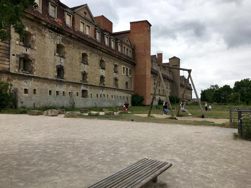 Schaukel Petersberg Erfurt