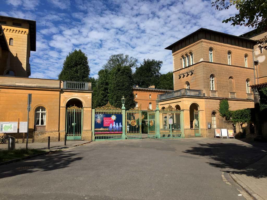 Eingang Potsdam Schlosspark