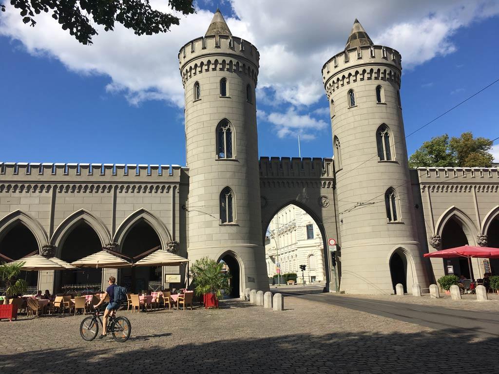 Fahrrad Stadttor Potsdam Öffis