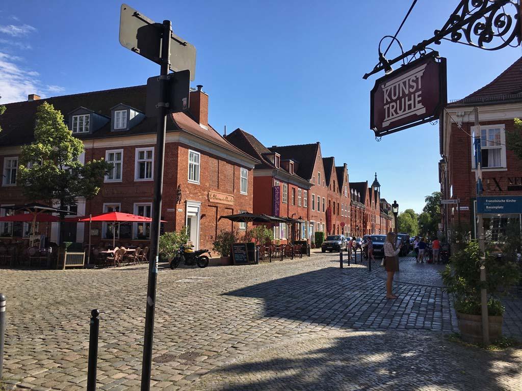 Straße Potsdam Holländisches Viertel