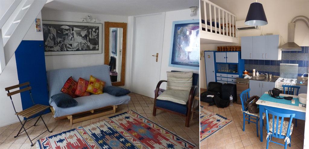 apartment blue sea catania