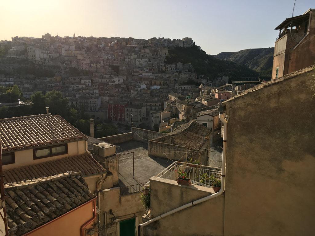 Häuser Ragusa Sizilien