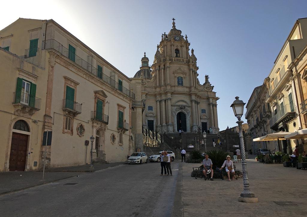 Kirche Platz Ragusa