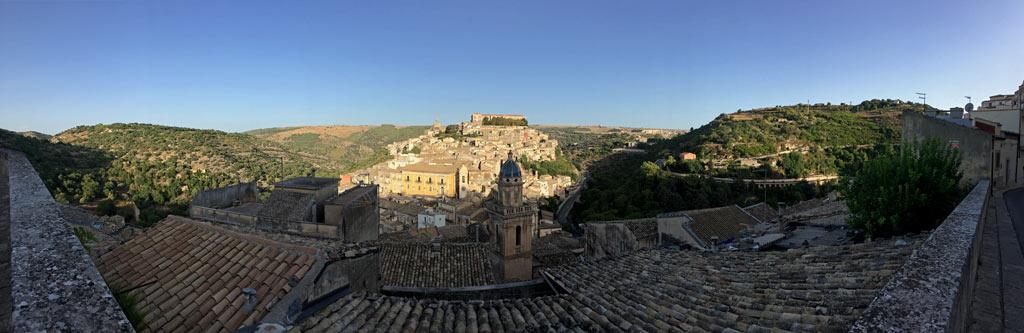 Ragusa von oben Panorama
