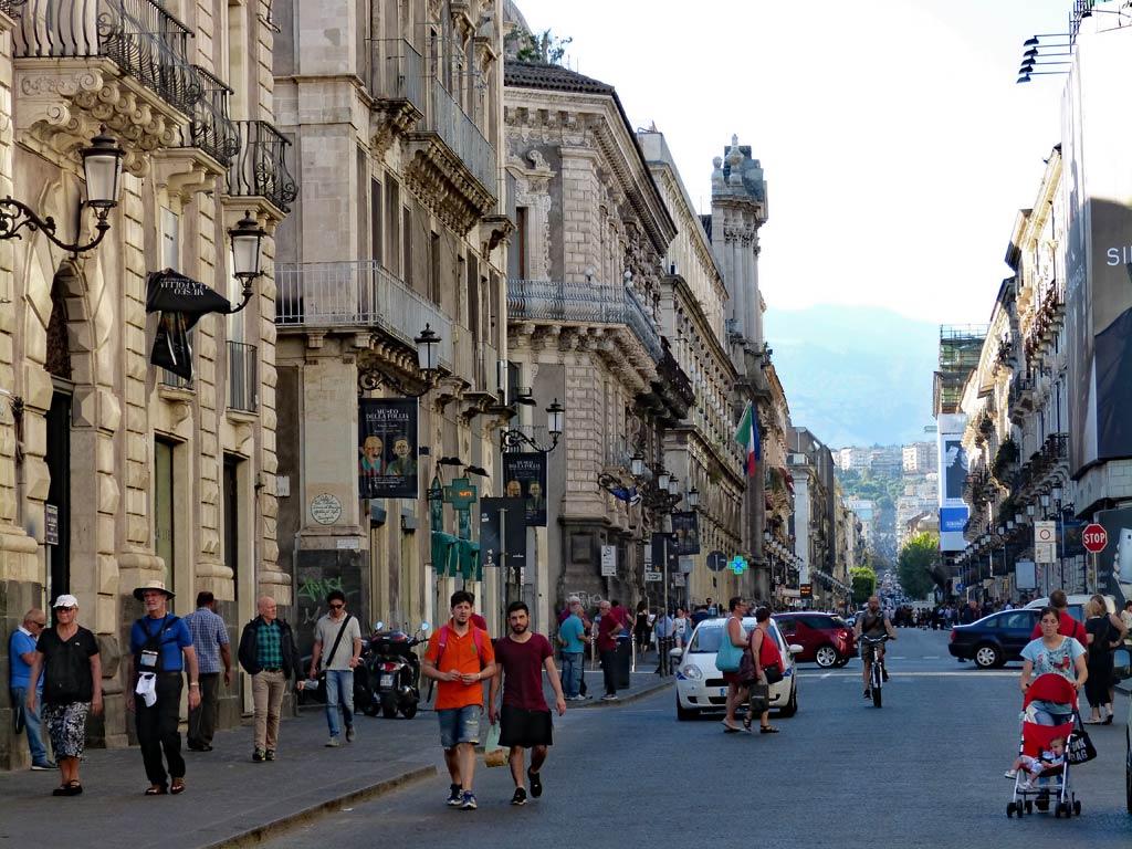 Via Etnea Vulkan Ätna Catania Top 10 Sehenswürdigkeiten