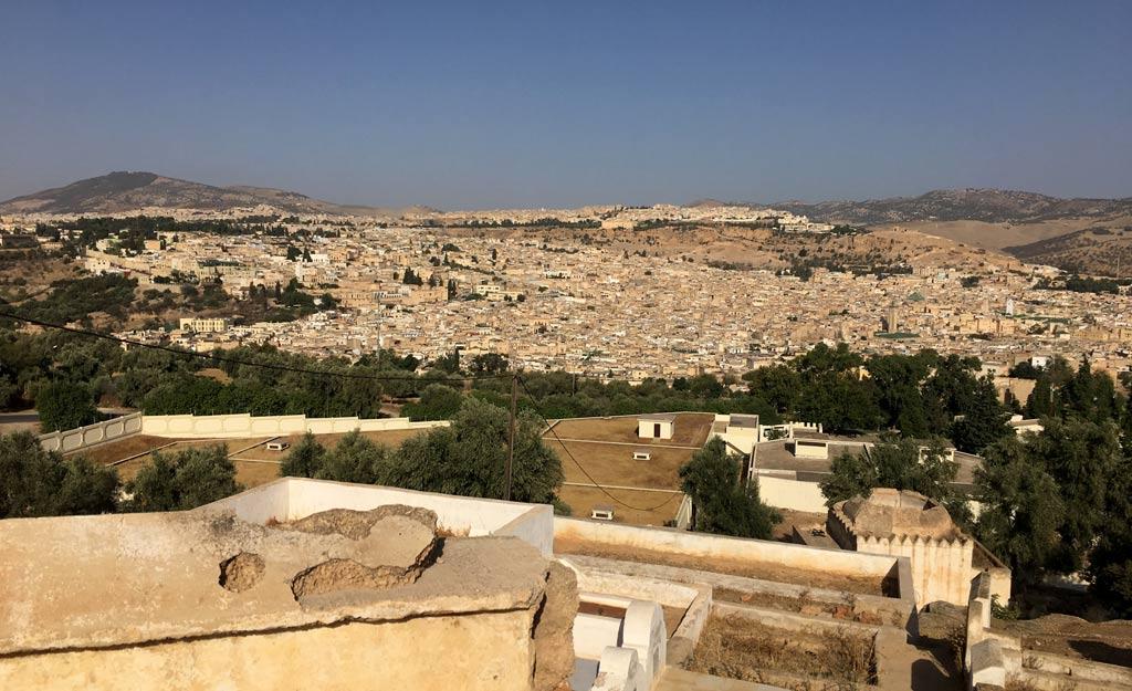 Fes Medina Aussicht