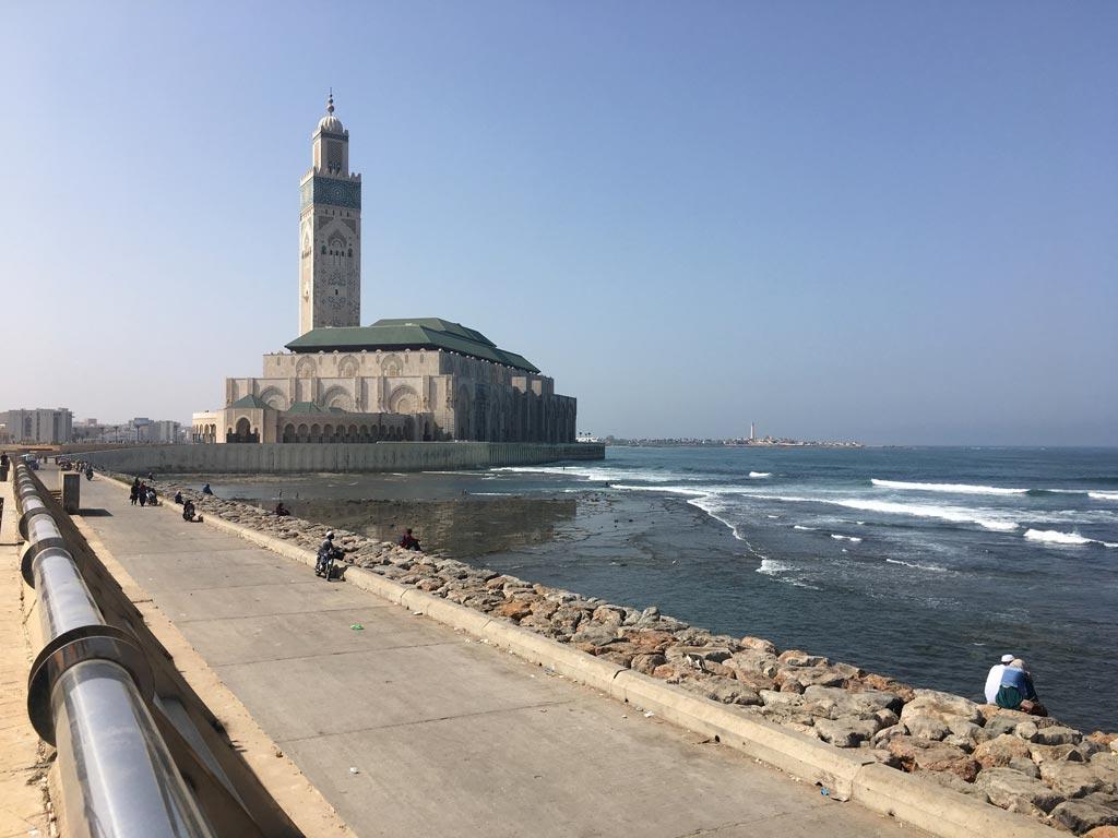 Hassan Moschee Casablanca
