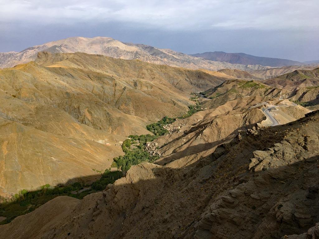 Marokko Atlas Gebirge Pass