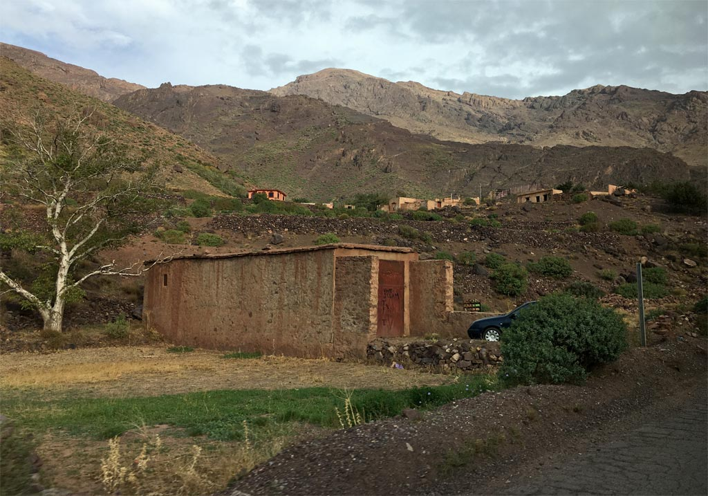 Marokko Hütte Berge