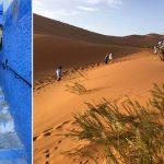 Marokko Roadtrip Chefchaouen Sahara-Wüste