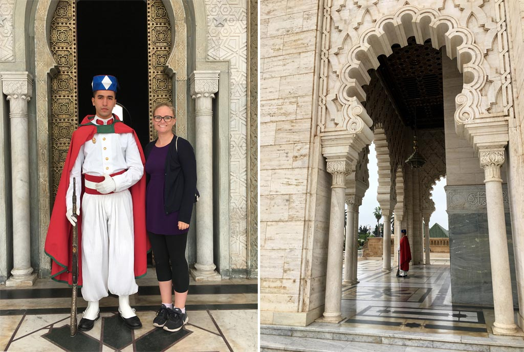Mausoleum Rabat Wache