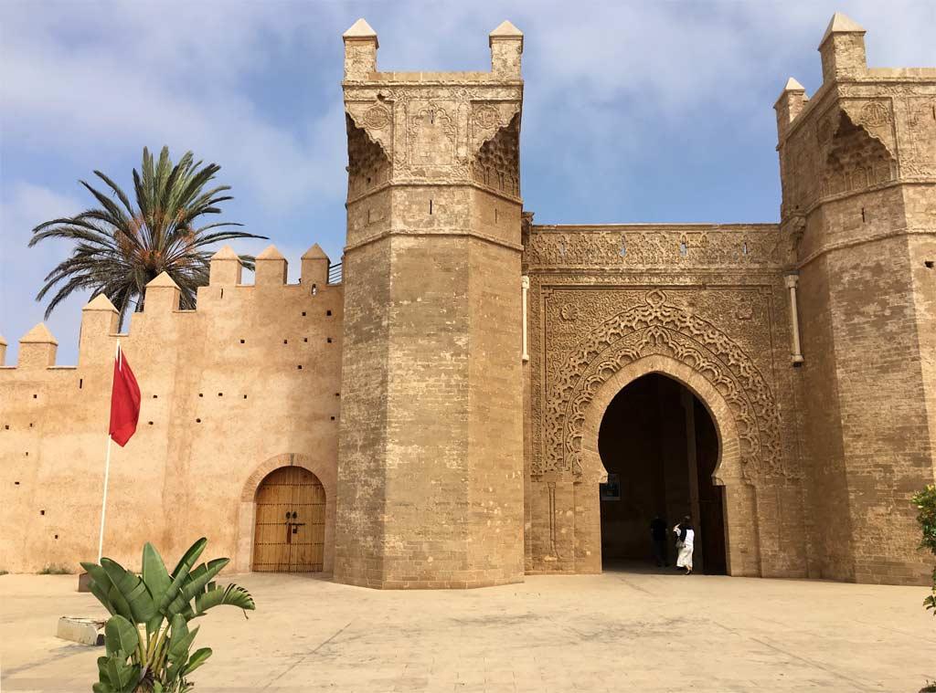 Rabat Chellah Eingang