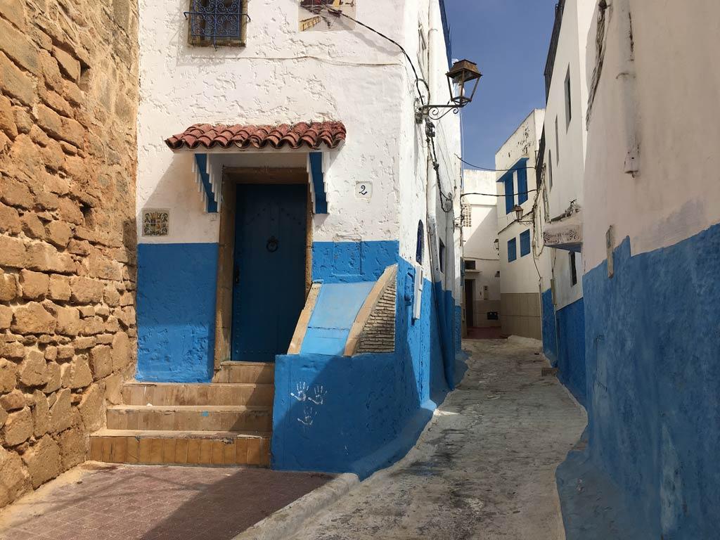 Rabat Medina Altstadt