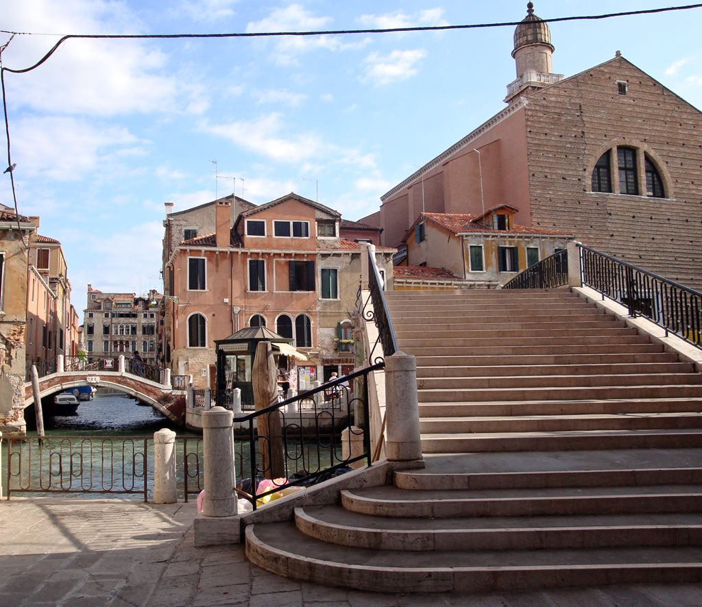 Church San Pantalon in Venice