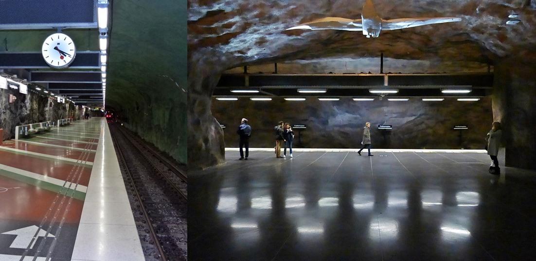 Metro in Stockholm, Sweden