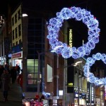 Christmas decorations in Dublin