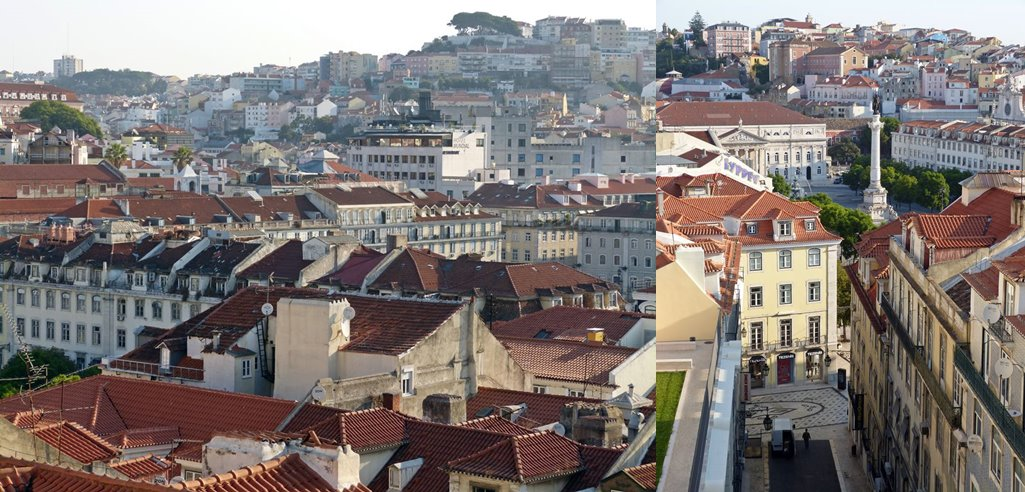 moments of travel morning walk in Lisbon, Portugal (2)