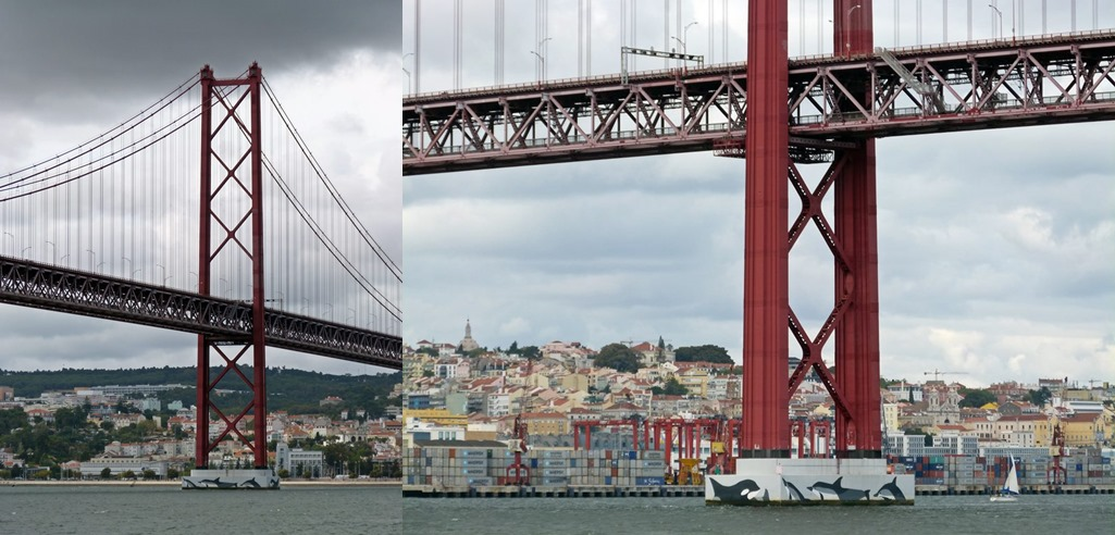 moments of travel on yellow boat tour in Lisbon, Portugal (1)