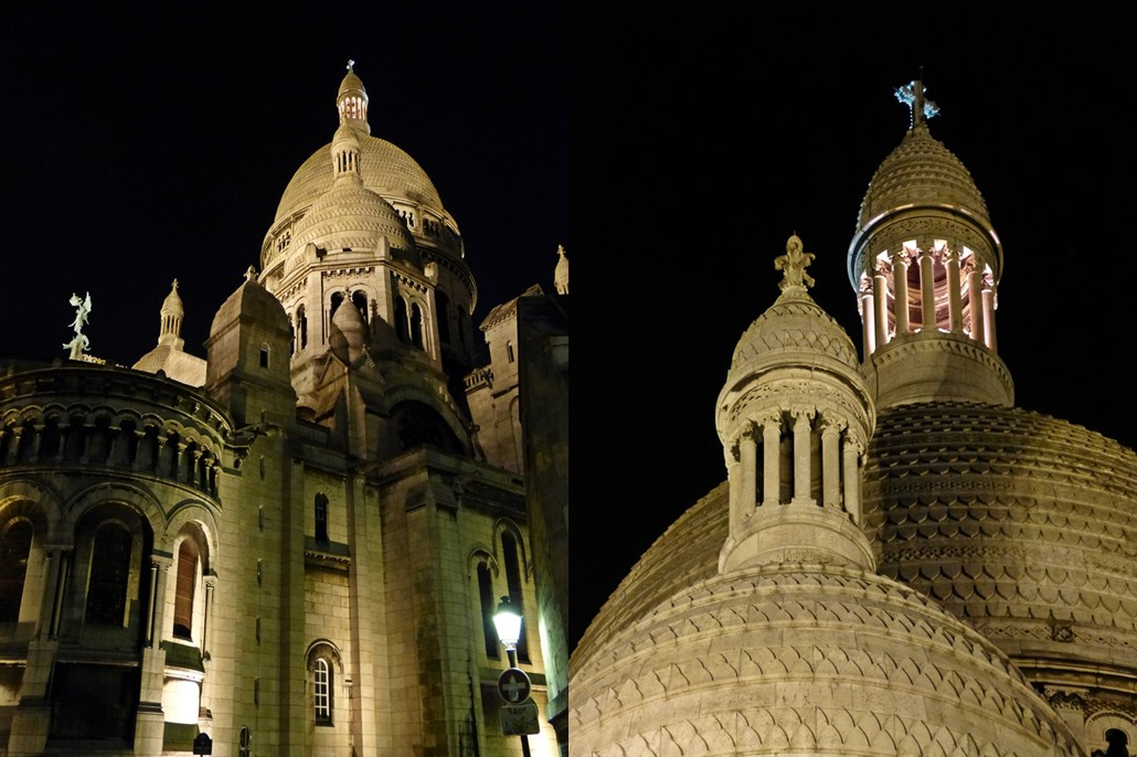 moments of travel in Paris, Montmartre at night