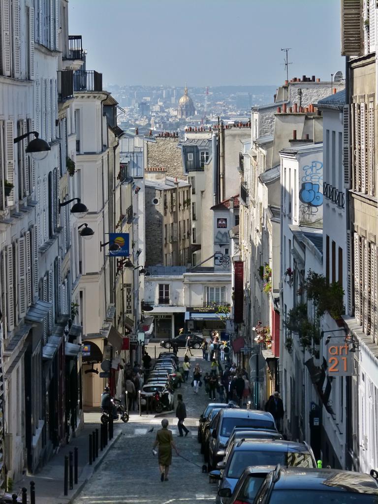 moments of travel walking around Montmartre in Paris