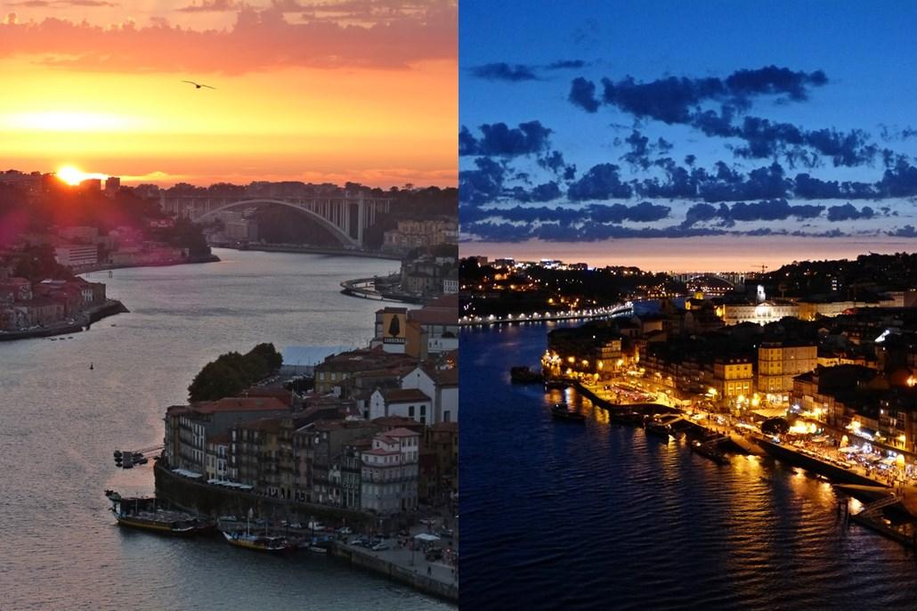 10 must dos in porto - Sunset at Mosteiro da Serra do Pilar - momentsoftravel.com