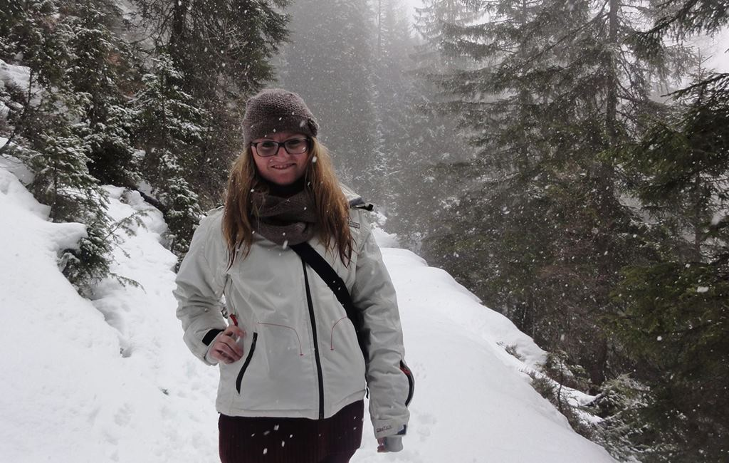 Wandering through snow in the Dolomites in Italy, The Versatile Blogger Award - momentsoftravel.com