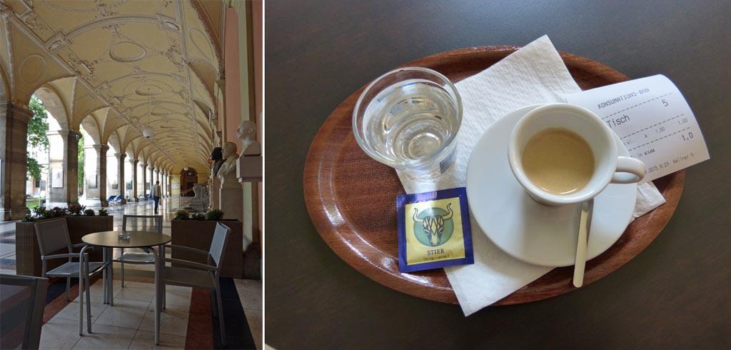 Wien Tipps Universität Espresso