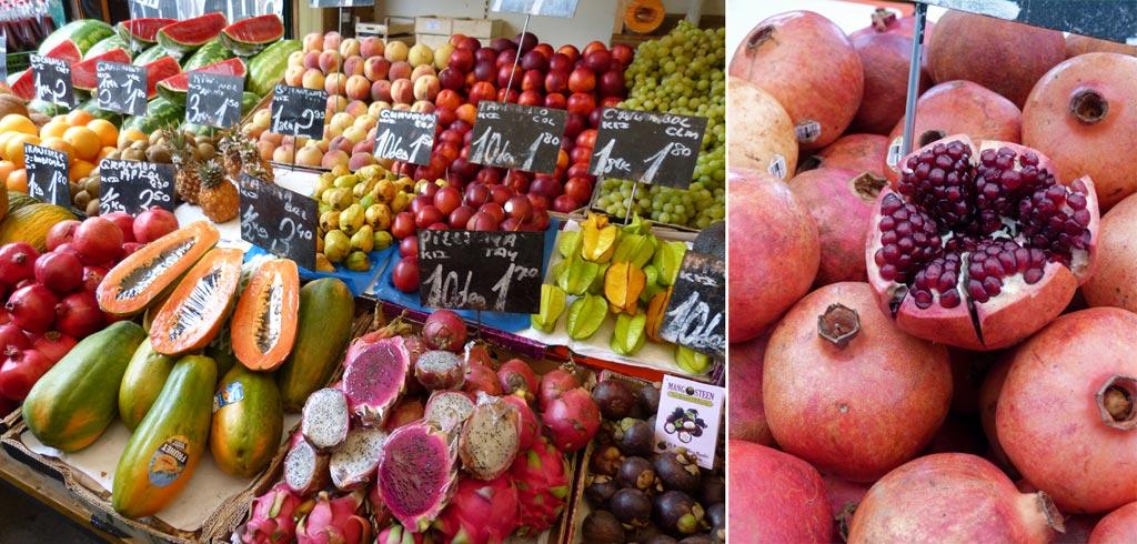 Wien Tipps: Wochenmarkt Obst