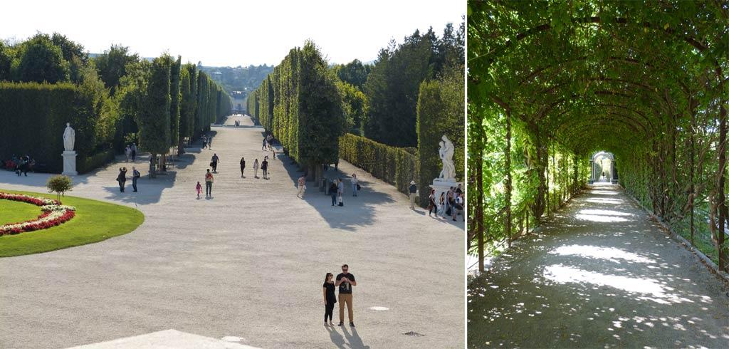 Wien Tipps Park Schloss Schönbrunn