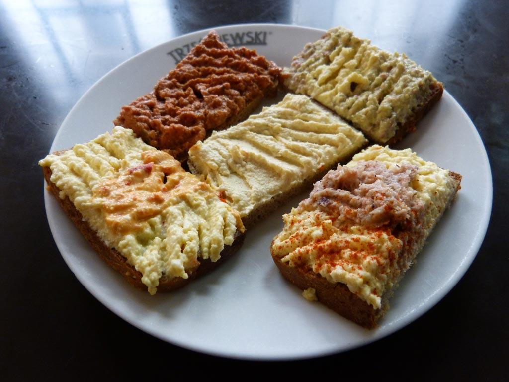 Wien Tipps Sandwiches Trzesniewski