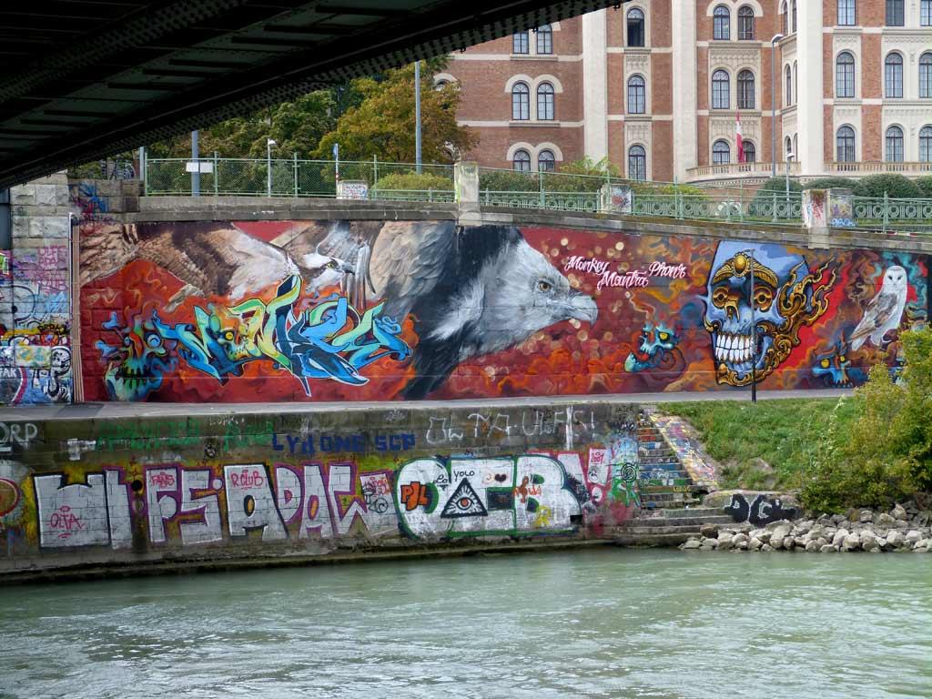 Wien Tipps Street Art Donau