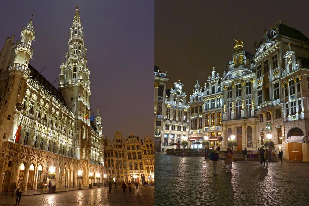 Grand Place in Brüssel, 48 Stunden Brüssel